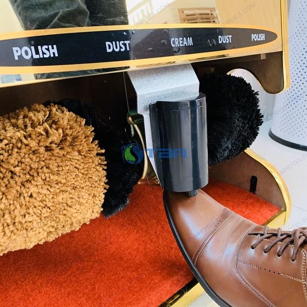 máy đánh giày cho khu vực tiền sảnh