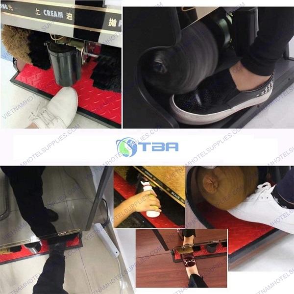 cách sử dụng máy đánh giày tự động