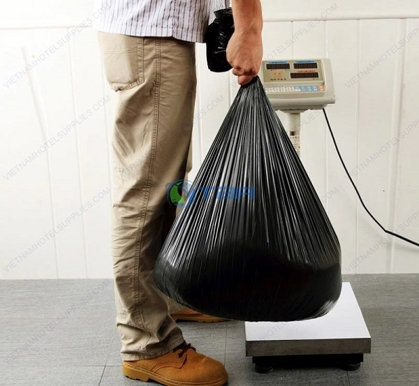 Túi rác đen công nghiệp cỡ lớn cho nhà xưởng