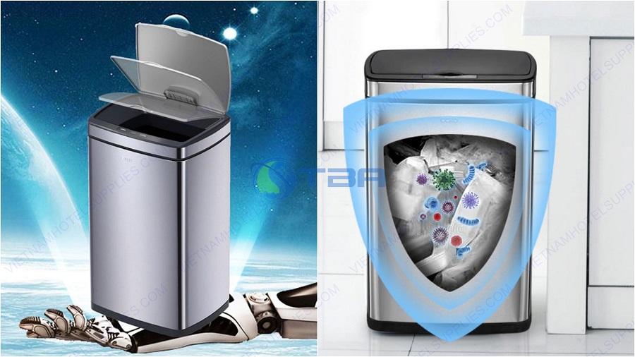 Thùng rác cảm biến thông minh