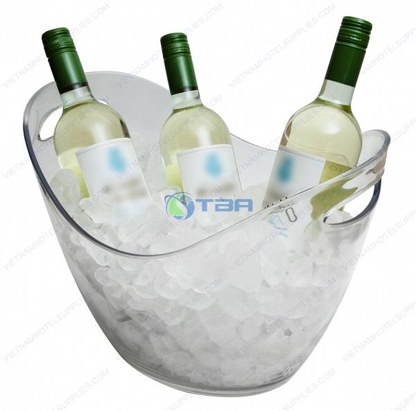 Xô đá ướp lạnh bia rượu nhựa ABS