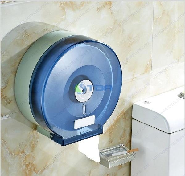 Hộp đựng giấy vệ sinh cuộn tròn toilet tòa nhà