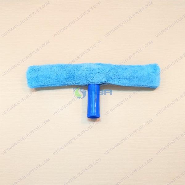 Đầu lau kính bông tai thỏ siêu sạch màu xanh