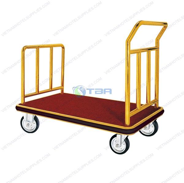 Xe đẩy hàng lý khách sạn cỡ lớn 4 bánh